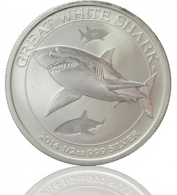 Great White Shark 1/2 oz 2014