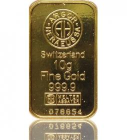 Gold-Barren 10 g LBMA-zertifiziert