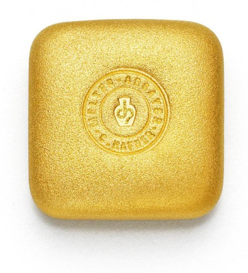 C.Hafner Gold-Barren 1 oz / 31,1g Quadrat Gussbarren LBMA-zertifiziert