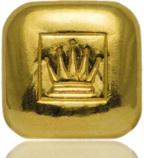 MünzManufaktur Gold-Barren 1 oz / 31,1 g Quadrat Gussbarren
