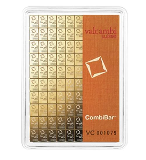 Valcambi CombiBar Gold-Barren 100 x 1 g
