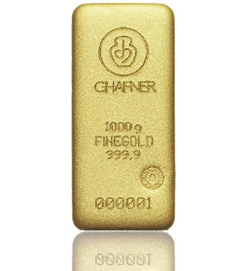 C. Hafner Gold-Barren 1000 g LBMA zertifiziert