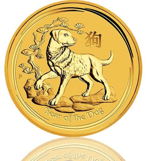 Lunar Serie II 1 oz 2018 Hund