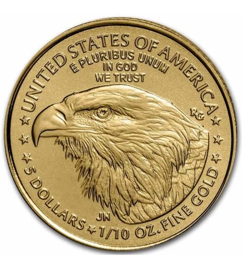 American Gold Eagle 1/10 oz 2021 Typ 2