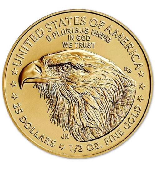 American Gold Eagle 1/2 oz 2021 Typ 2