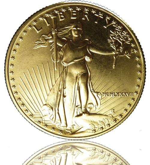 American Gold Eagle 1/2 oz div. Jg.