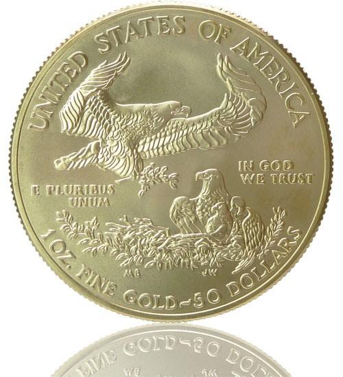 American Gold Eagle 1 oz div. Jg.