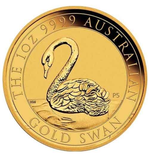 Schwan Australien Gold 1 oz 2021 Perth Mint