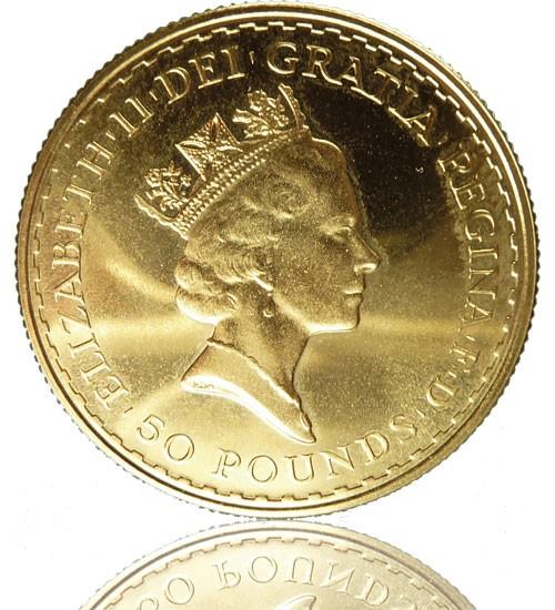 Britannia Gold 1/2 oz 2021