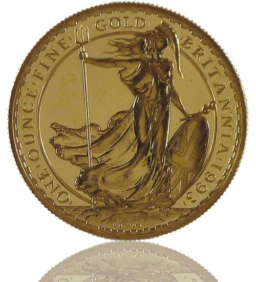 Britannia Gold 1 oz div. Jg.