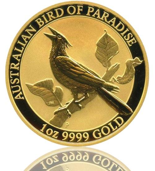 Birds of Paradise Australien Gold 1 oz 2019 Perth Mint