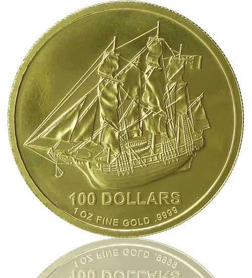 Cook Islands Gold 1 oz div. Jg.