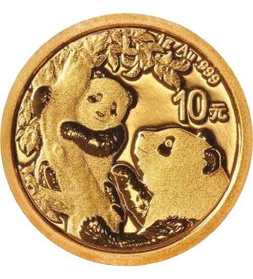 China Gold Panda 1 g 2021