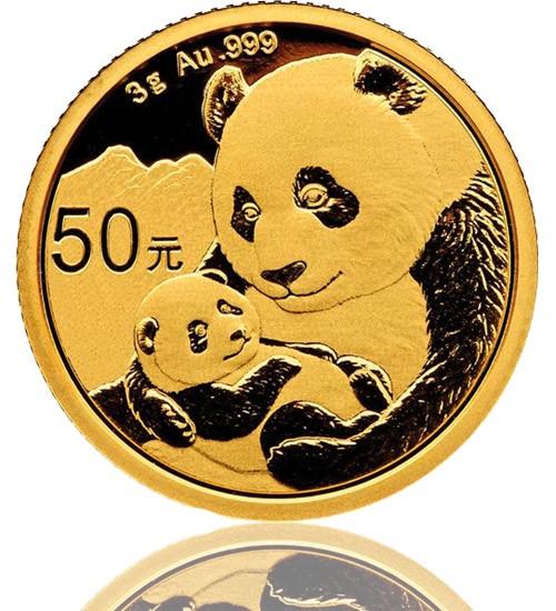 China Gold Panda 3 g 2019
