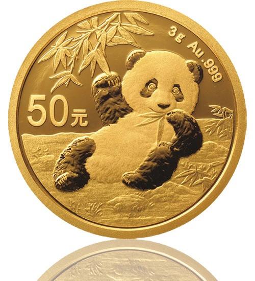 China Gold Panda 3 g 2020