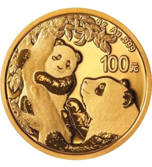 China Gold Panda 8 g 2021