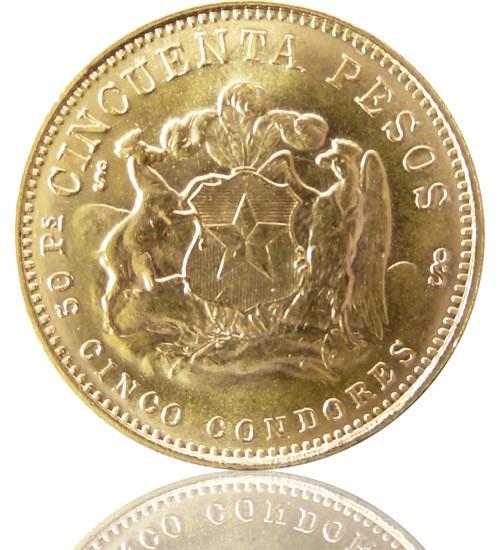 Chile 50 Pesos 1895-1980