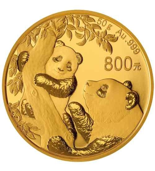 Gold China Panda 50 g PP 2021