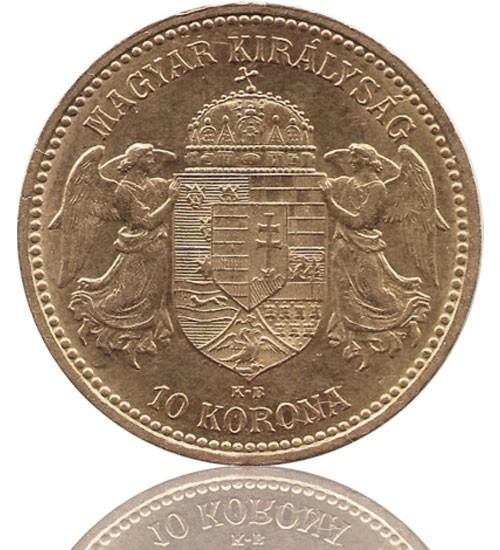 10 Kronen / Korona Ungarn