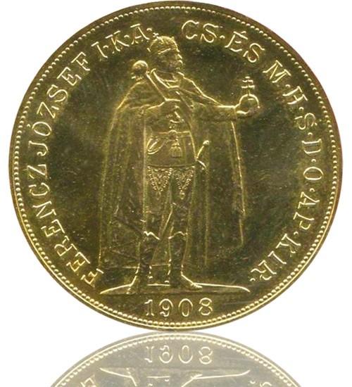 Ungarn 100 Gold Korona / Kronen