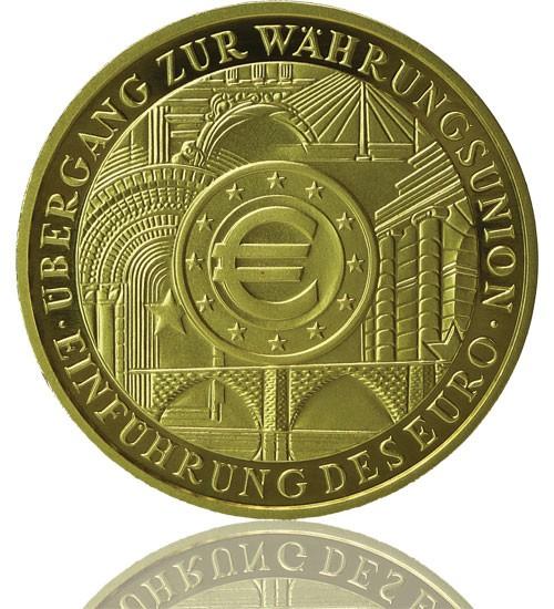 Goldeuro 1 oz 2002 F Währungsunion