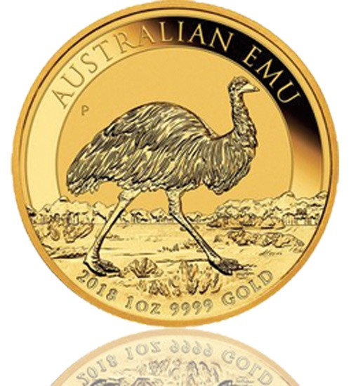 Emu Australien Gold 1 oz 2018 Perth Mint