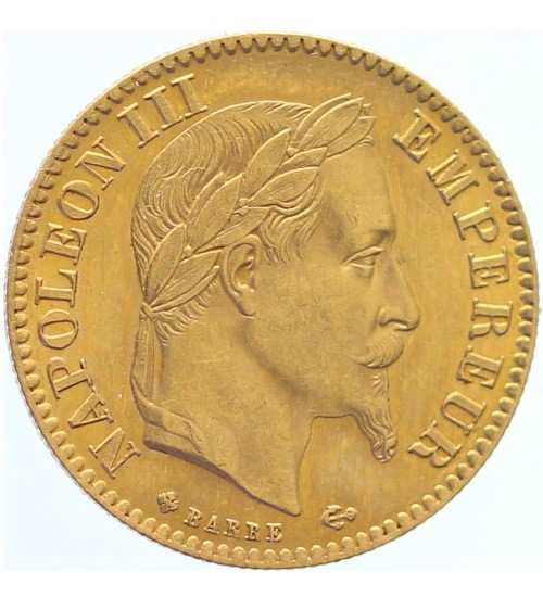 Frankreich 10 Franc Napoleon III