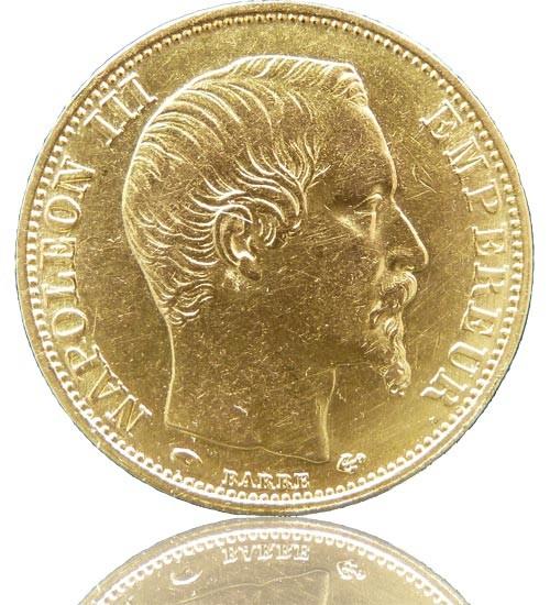 Frankreich 20 Franc Napoleon III.