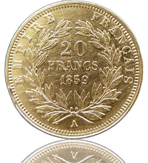 Frankreich 20 Franc Diverse
