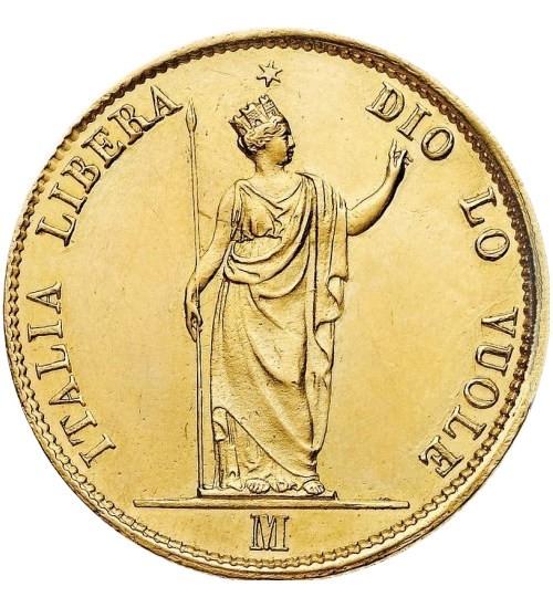 Italien 20 Lire Lombardo-Venetien