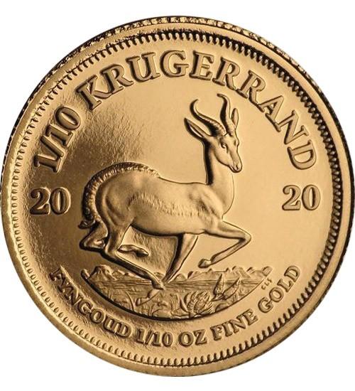 Krügerrand 1/10 oz Gold 2021
