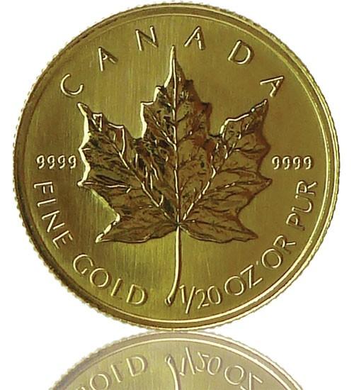 Maple Leaf Gold 1/20 oz 2019