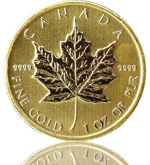 Maple Leaf 1 oz div. Jg.