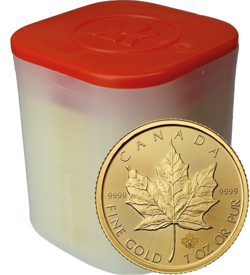 10 x 1 oz Gold Maple Leaf 2020 Investmentpaket