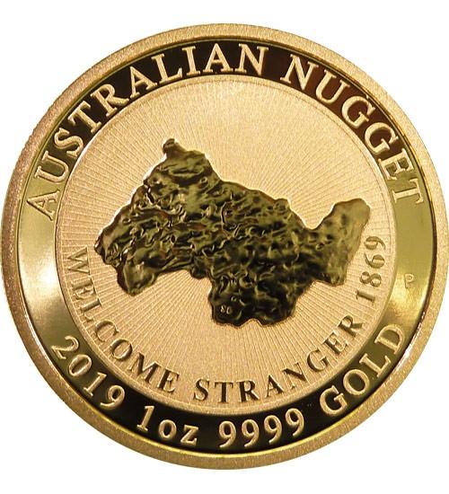 Australien Gold Nugget 1 oz 2019 Perth Mint - Welcome Stranger