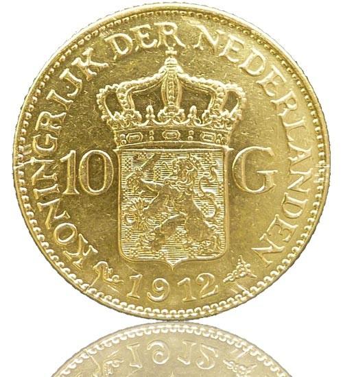 Niederlande 10 Gulden