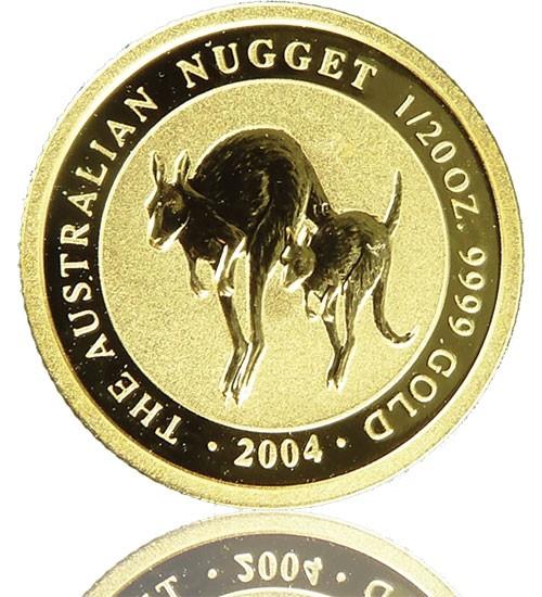 Nugget/Känguru 1/20 oz div. Jg.