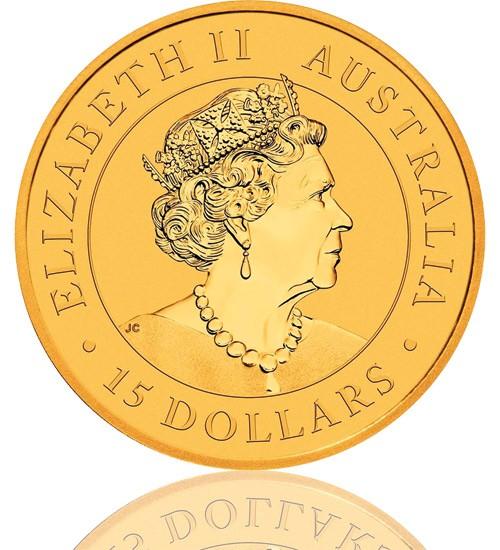 Gold Nugget/Känguru 1/10 oz 2021