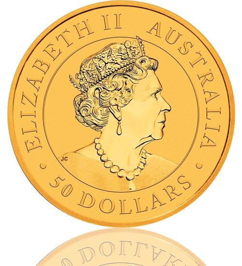 Gold Nugget/Känguru 1/2 oz 2021