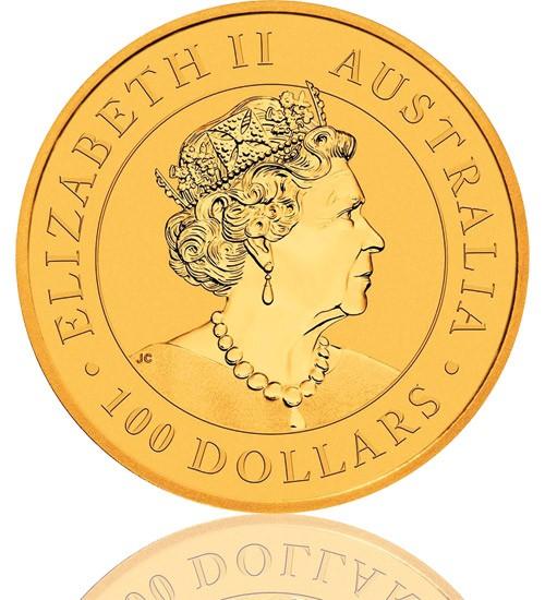 Gold Nugget/Känguru 1 oz 2021