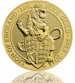 The Queen's Beast - Lion of England 1 oz 2016