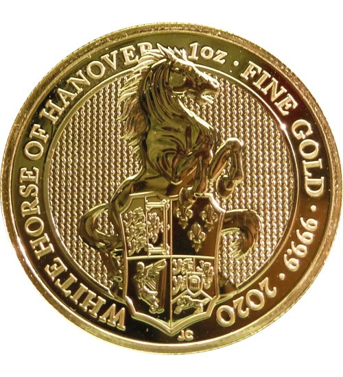 The Queen's Beast - White Horse of Hanover 1 oz 2020