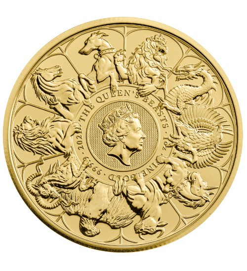 The Queen's Beast - Completer Coin 1 oz 2021