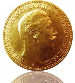 20 Mark Preussen Wilhelm II. 1906 A