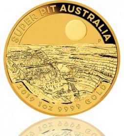 Australien Super Pit 1 oz 2019 Perth Mint