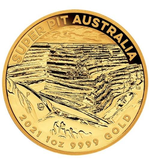 Australien Super Pit 1 oz 2021 Perth Mint