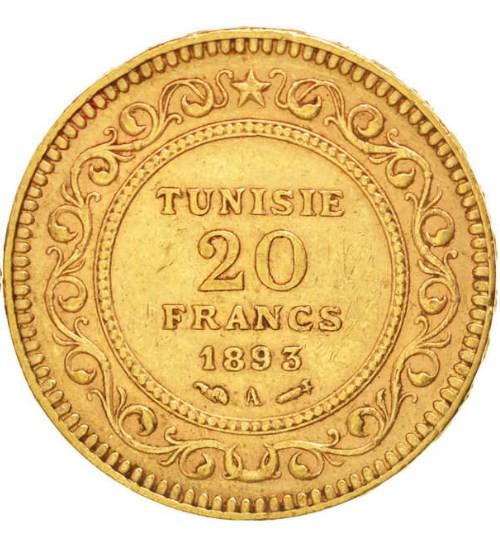 Tunesien 20 Francs Diverse