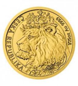 Gold Tschechischer Löwe - 1/25 oz - 2021 - Czech Lion