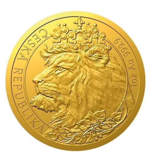 Gold Tschechischer Löwe - 1 oz - 2021 - Czech Lion