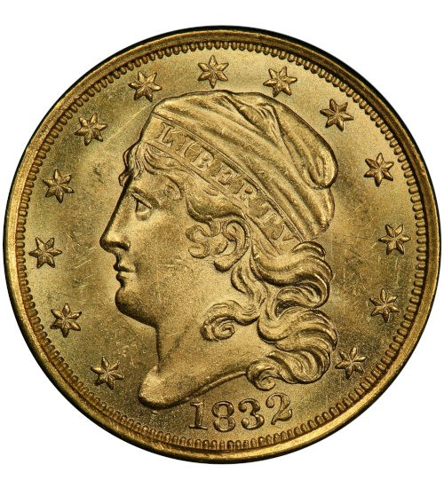 2,5 US-Dollar Capped Bust